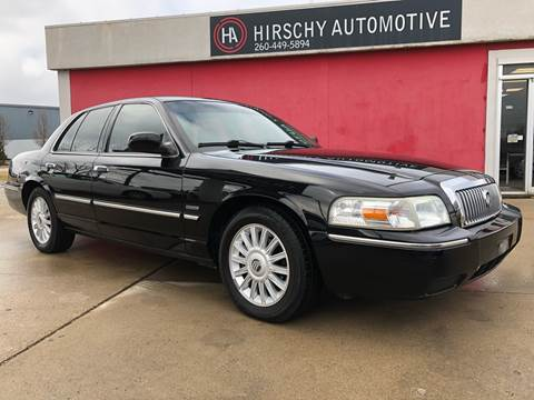 2010 Mercury Grand Marquis for sale at Hirschy Automotive in Fort Wayne IN