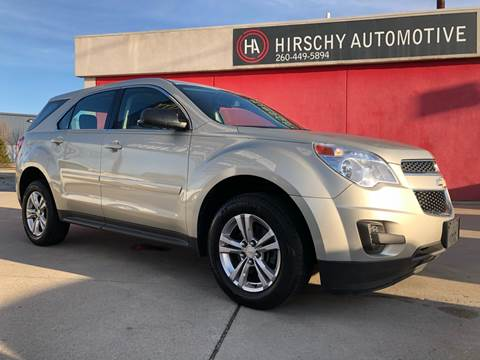 2015 Chevrolet Equinox for sale at Hirschy Automotive in Fort Wayne IN