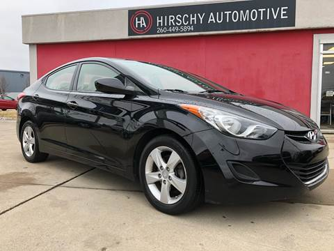 2013 Hyundai Elantra for sale at Hirschy Automotive in Fort Wayne IN