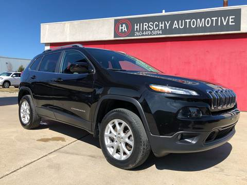 2014 Jeep Cherokee for sale at Hirschy Automotive in Fort Wayne IN