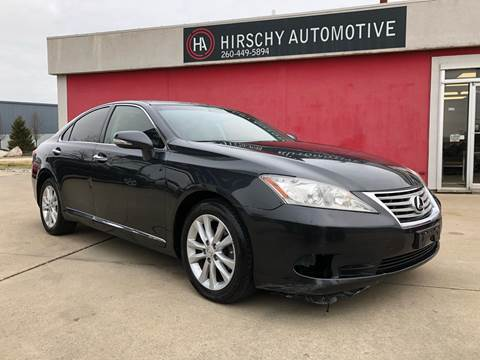 2011 Lexus ES 350 for sale at Hirschy Automotive in Fort Wayne IN