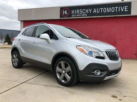 2013 Buick Encore for sale at Hirschy Automotive in Fort Wayne IN