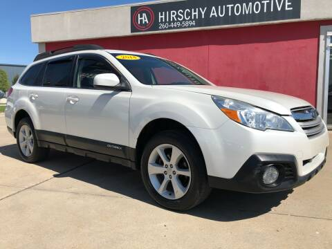 2014 Subaru Outback for sale at Hirschy Automotive in Fort Wayne IN