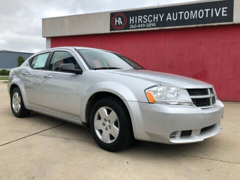2010 Dodge Avenger for sale at Hirschy Automotive in Fort Wayne IN