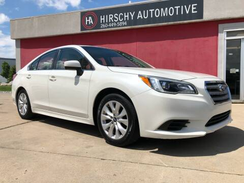 2015 Subaru Legacy for sale at Hirschy Automotive in Fort Wayne IN