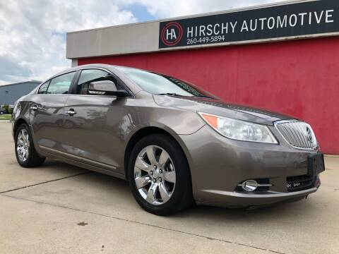 2011 Buick LaCrosse for sale at Hirschy Automotive in Fort Wayne IN