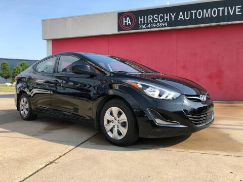 2016 Hyundai Elantra for sale at Hirschy Automotive in Fort Wayne IN