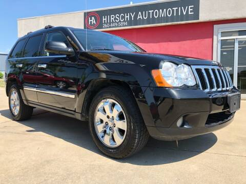 2010 Jeep Grand Cherokee for sale at Hirschy Automotive in Fort Wayne IN