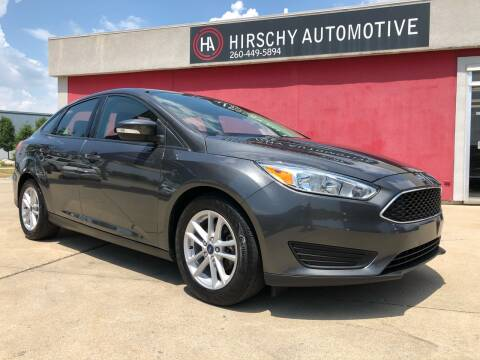 2017 Ford Focus for sale at Hirschy Automotive in Fort Wayne IN
