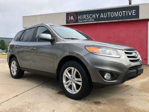 2012 Hyundai Santa Fe for sale at Hirschy Automotive in Fort Wayne IN