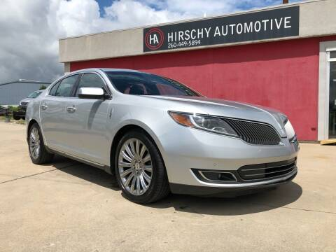 2014 Lincoln MKS for sale at Hirschy Automotive in Fort Wayne IN