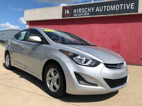 2015 Hyundai Elantra for sale at Hirschy Automotive in Fort Wayne IN