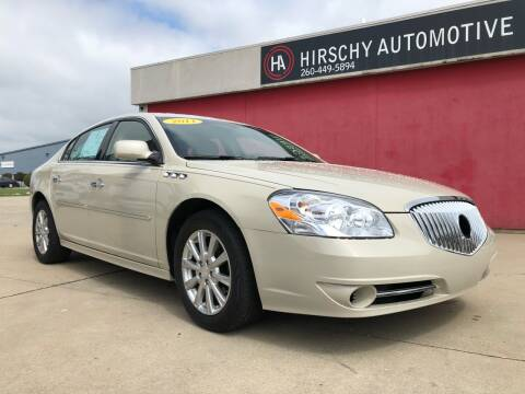 2011 Buick Lucerne for sale at Hirschy Automotive in Fort Wayne IN