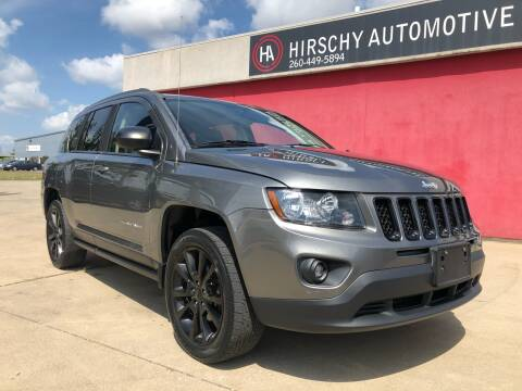 2012 Jeep Compass for sale at Hirschy Automotive in Fort Wayne IN
