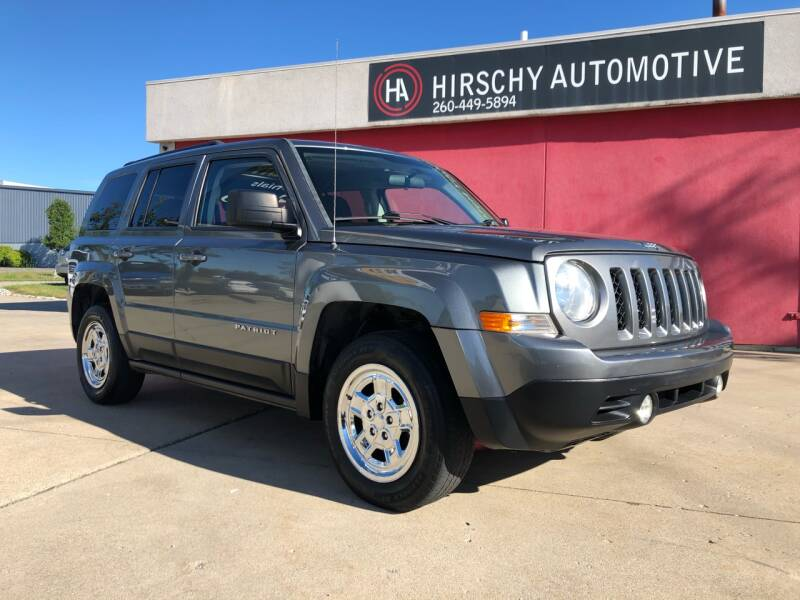 2012 Jeep Patriot for sale at Hirschy Automotive in Fort Wayne IN