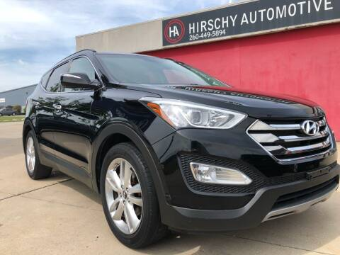 2013 Hyundai Santa Fe Sport for sale at Hirschy Automotive in Fort Wayne IN