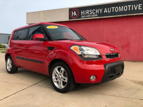 2011 Kia Soul for sale at Hirschy Automotive in Fort Wayne IN