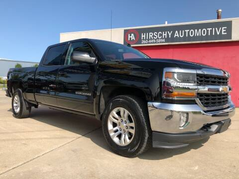 2016 Chevrolet Silverado 1500 for sale at Hirschy Automotive in Fort Wayne IN