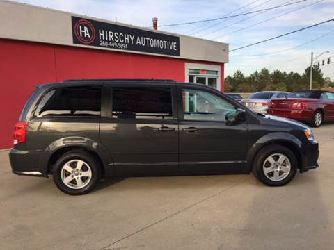 2012 Dodge Grand Caravan for sale at Hirschy Automotive in Fort Wayne IN
