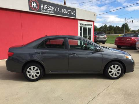 2010 Toyota Corolla for sale at Hirschy Automotive in Fort Wayne IN
