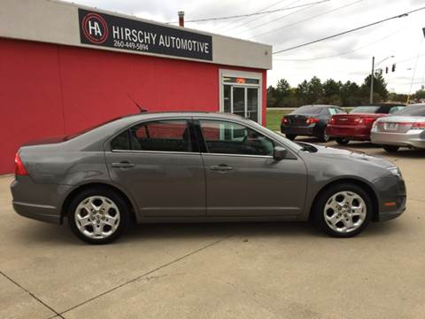 2010 Ford Fusion for sale at Hirschy Automotive in Fort Wayne IN