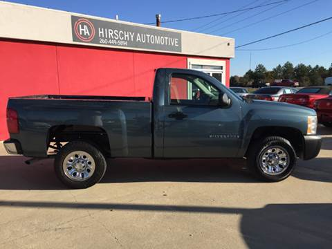 2007 Chevrolet Silverado 1500 Classic for sale at Hirschy Automotive in Fort Wayne IN