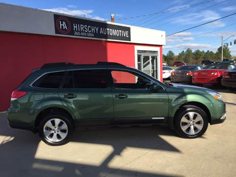 2011 Subaru Outback for sale at Hirschy Automotive in Fort Wayne IN