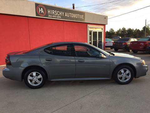 2008 Pontiac Grand Prix for sale at Hirschy Automotive in Fort Wayne IN