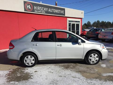 2011 Nissan Versa for sale at Hirschy Automotive in Fort Wayne IN