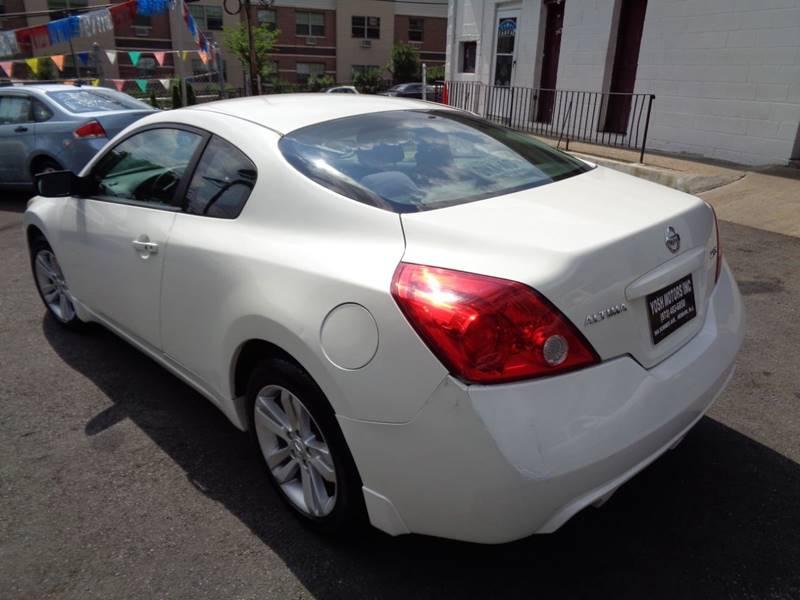 2011 Nissan Altima 2 5 S 2dr Coupe CVT In Newark NJ - Yosh Motors