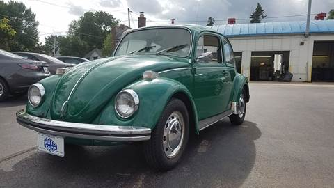 1971 Volkswagen Beetle for sale at THE AUTO SHOP ltd in Appleton WI