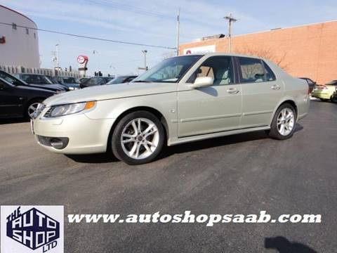 2006 Saab 9-5 for sale at THE AUTO SHOP ltd in Appleton WI
