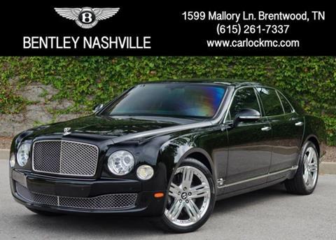 2013 Bentley Mulsanne For Sale - Carsforsale.com®