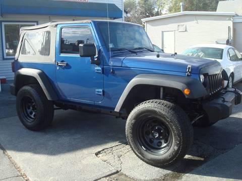 2010 Jeep Wrangler for sale in Cranston, RI