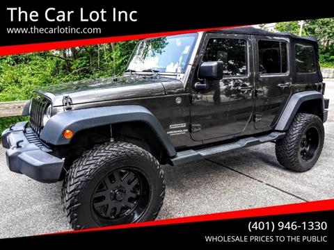 2014 Jeep Wrangler Unlimited for sale in Cranston, RI