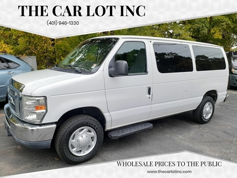 Used Passenger Vans For Sale >> 2011 Ford E Series Wagon For Sale In Cranston Ri