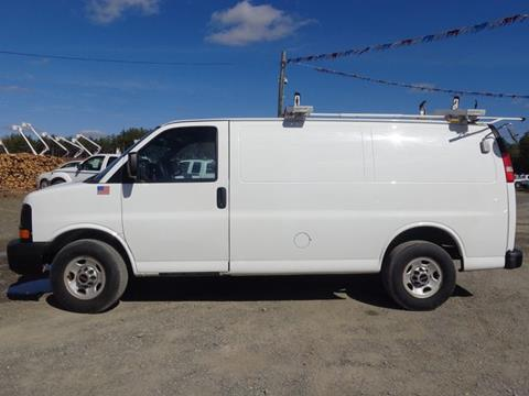 2013 GMC Savana Cargo for sale at Upstate Auto Sales Inc. in Pittstown NY