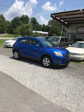 2015 Chevrolet Trax for sale in Manchester, TN