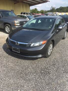 2012 Honda Civic for sale in Manchester, TN