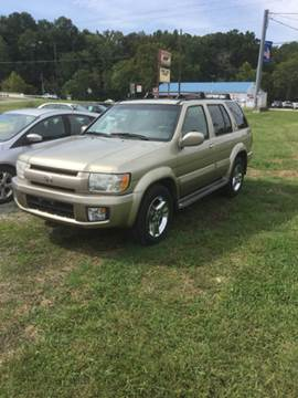 2002 Infiniti QX4 for sale in Manchester, TN