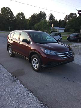 2012 Honda CR-V for sale in Manchester, TN