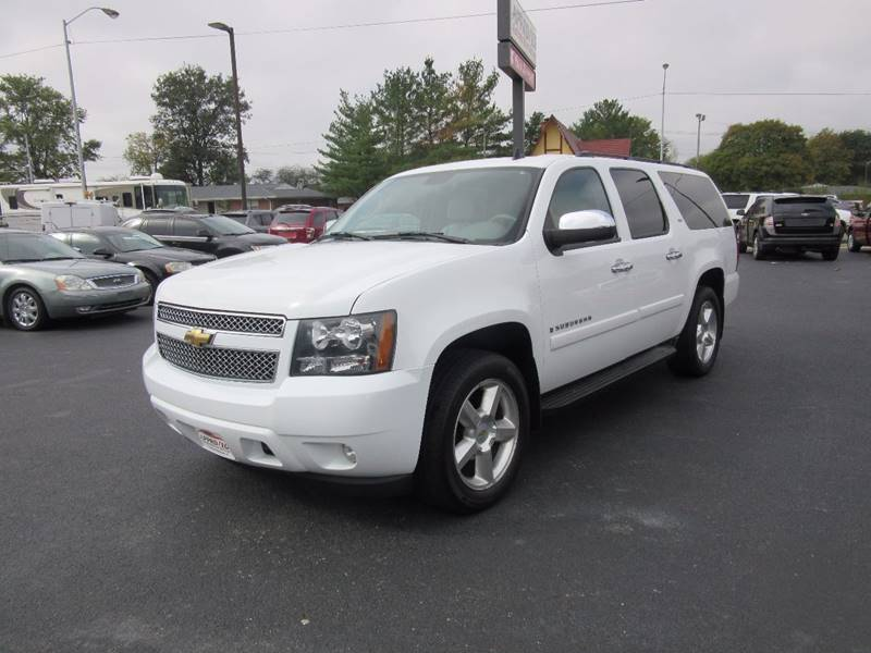 2008 Chevrolet Suburban for sale at Approved Automotive Group in Terre Haute IN