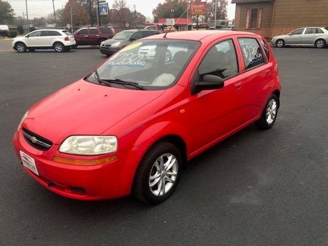 2004 Chevrolet Aveo 4dr Hatchback In Terre Haute In Approved