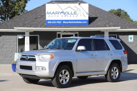 Auto Solutions Maryville Tn >> 2011 Toyota 4runner For Sale In Maryville Tn