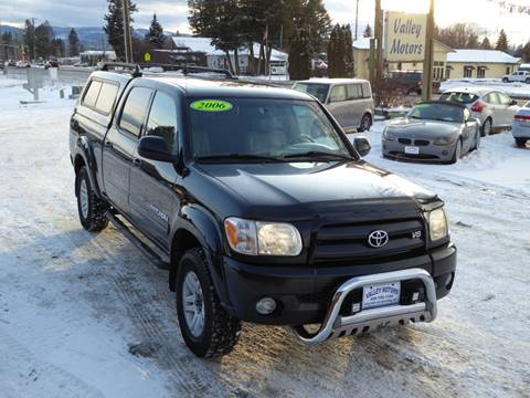2006 Toyota Tundra Limited for sale at VALLEY MOTORS in Kalispell MT
