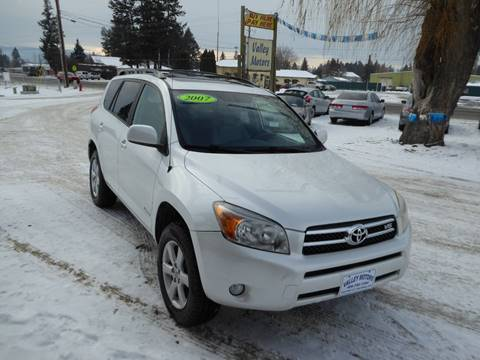 2007 Toyota RAV4 Limited for sale at VALLEY MOTORS in Kalispell MT