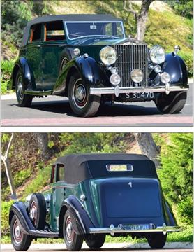1939 Rolls-Royce Phantom for sale at Gullwing Motor Cars Inc in Astoria NY