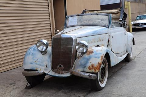 1938 Mercedes-Benz 170V for sale at Gullwing Motor Cars Inc in Astoria NY
