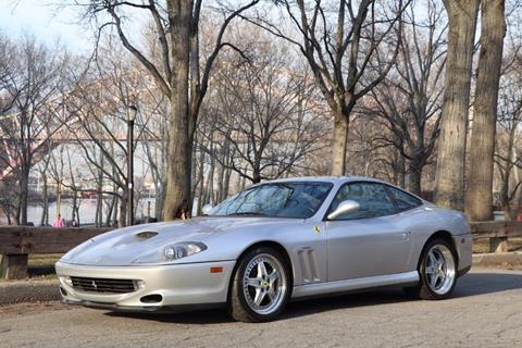 1997 Ferrari 550 Maranello for sale at Gullwing Motor Cars Inc in Astoria NY