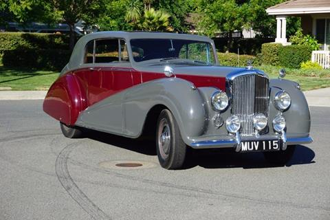 1951 Bentley Park Ward Coupe RHD for sale at Gullwing Motor Cars Inc in Astoria NY